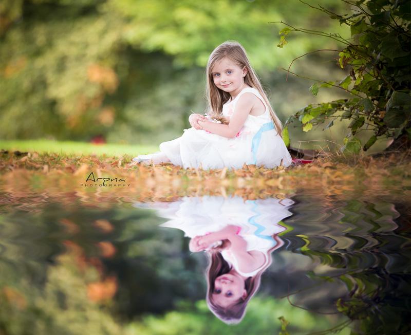 magical photo autumn shoot lake shoot huddersfield