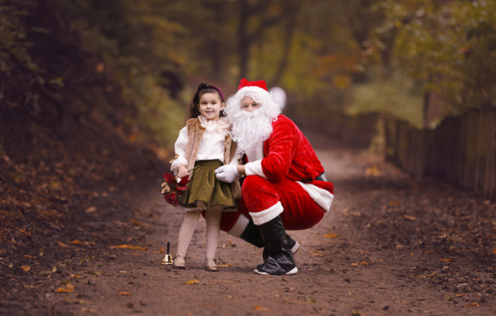 photo with santa winter halifax