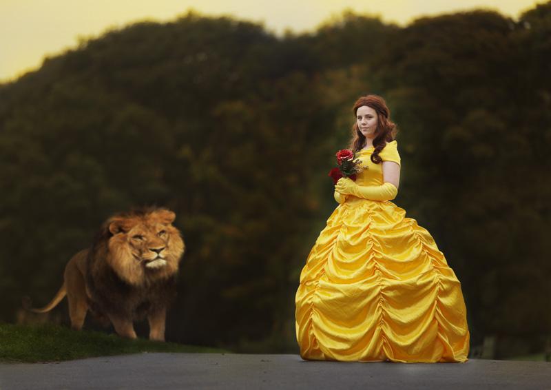 bella inspired princess photoshoot