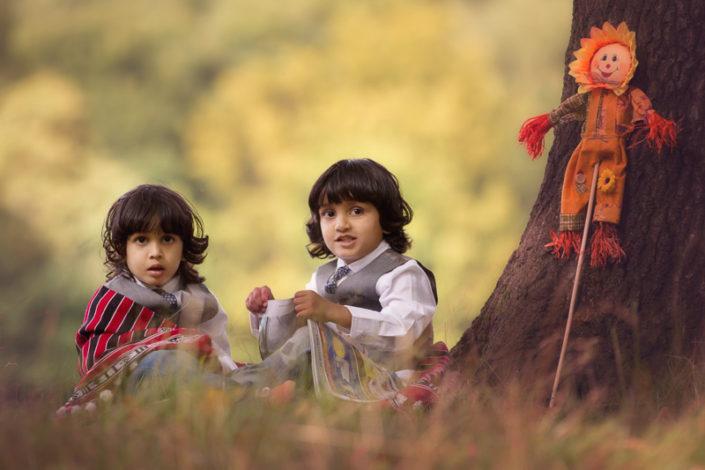 child portrait outdoor shibdenpark