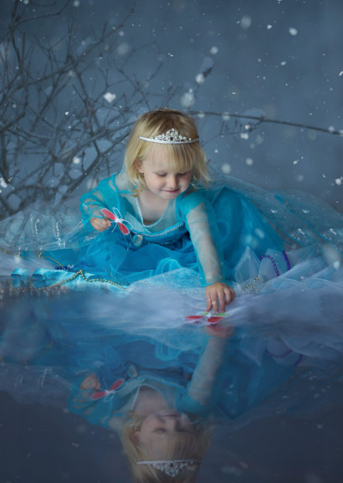 frozen inspired photography princess halifax