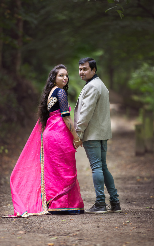 indian couple saree traditional photoshoot west yorkshire