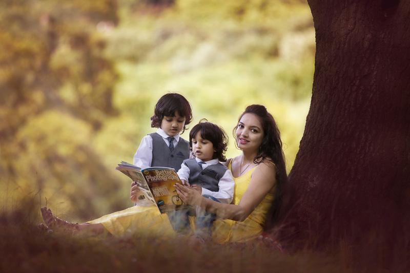mom and child photo family photoshoot bradford