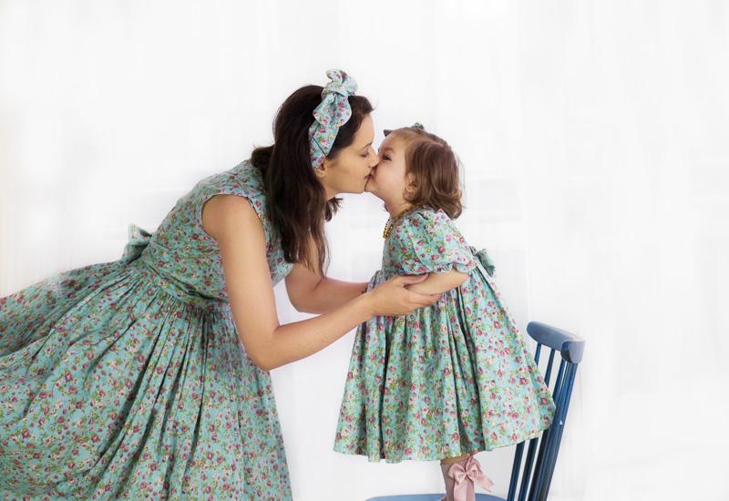 mom daughter same dress photoshoot halifax