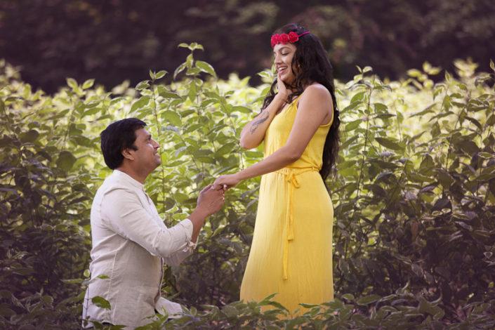 proposal photoshoot couple bradford photographer