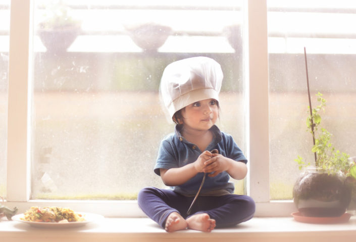 child eating food good houskeeping