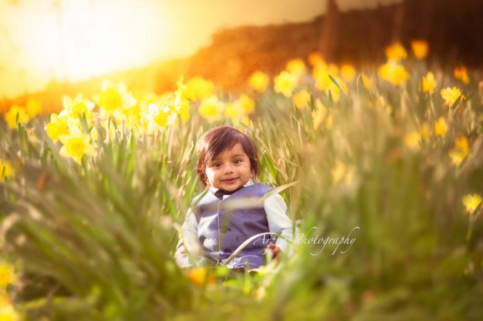 manor heath daffodils photoshoot