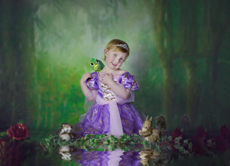 Disney Princess Photoshoot Fairytale Photographer West