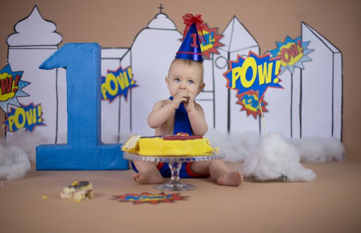 cake smash photography by arpna