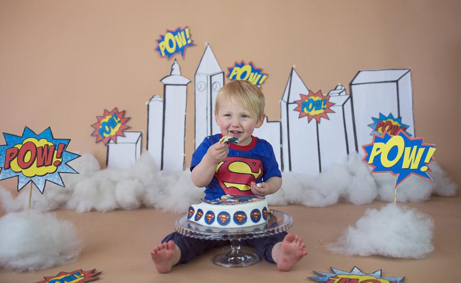 Baby cake smash / first birthday photographer in Bangalore