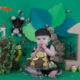 jungle theme by arpna cake smash kormangala bangalore