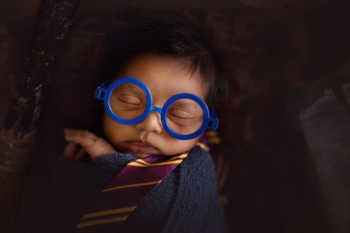 arpna photography bangalore harry potter new born photoshoot ind