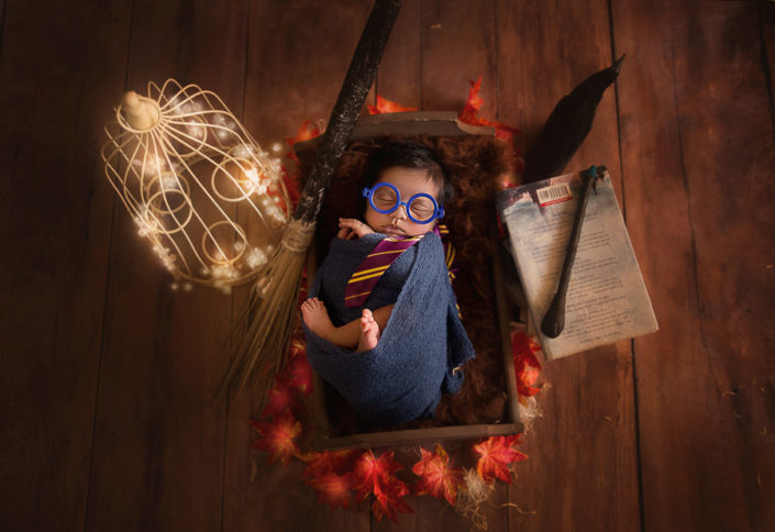 harry potter theme photo shoot bangalore india new born photograp