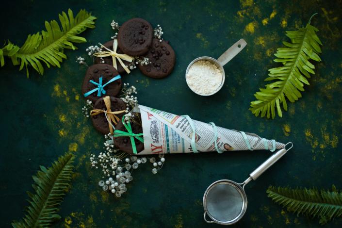 chocolate cookies food photography Dubai