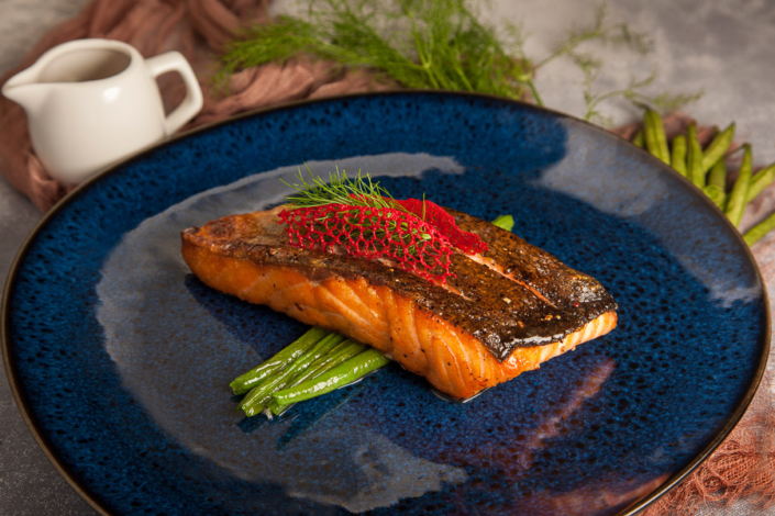 palm jumeirah restaurants per tre food styling